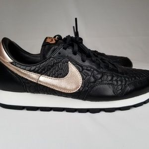 on sale 04a37 59a25 Nike Shoes - Nike Air Pegasus 83 Premium Quilted Black Metallic